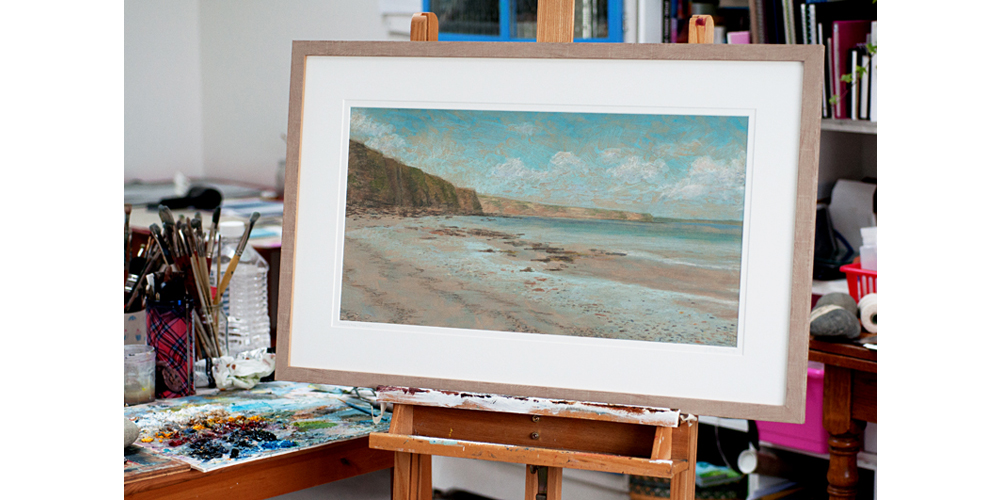 Jo Thomson, Orkney, drawing, painting