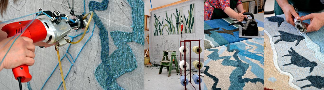 rug making slider